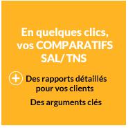En quelques clics vos Comparatif SAL/TNS